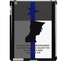 Blessed are the Peacemakers Texas iPad Case/Skin