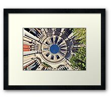 architectural fantasy Framed Print