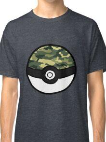 Camo Pokeball Classic T-Shirt