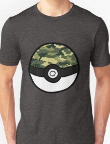 Camo Pokeball Unisex T-Shirt