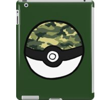 Camo Pokeball iPad Case/Skin