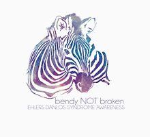 bendy NOT broken (EDS awareness Womens Fitted T-Shirt