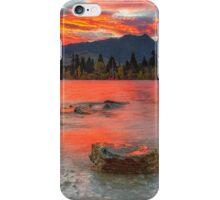 Scarlet Sunrise - Queenstown New Zeland iPhone Case/Skin