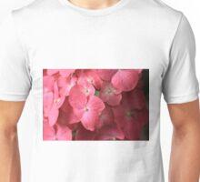 Coral Sea Of Hydrangea Unisex T-Shirt