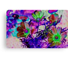 Spring Flowers on Planet Zorg Canvas Print
