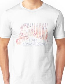 I am Zebra Strong Unisex T-Shirt