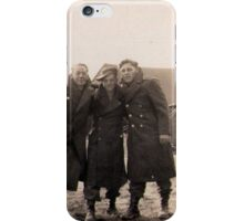 Casual Soldiers Circa WWII iPhone Case/Skin