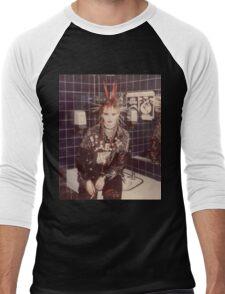 lovely PUNK GRRRL (Kerry) Men's Baseball ¾ T-Shirt