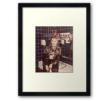 lovely PUNK GRRRL (Kerry) Framed Print
