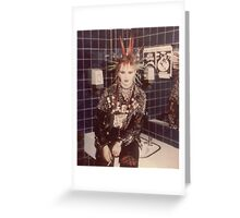 lovely PUNK GRRRL (Kerry) Greeting Card