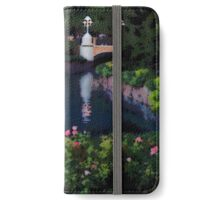 Garden of Water, Photo / Digital Painting iPhone Wallet/Case/Skin