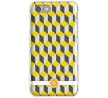 Yellow Block iPhone Case/Skin