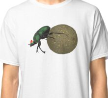 Christmas Dung Beetle by Anne Winkler Classic T-Shirt