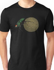 Christmas Dung Beetle by Anne Winkler Unisex T-Shirt