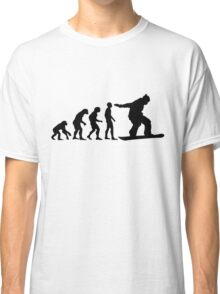 Snowboard Evolution Classic T-Shirt