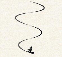 Snowboard lines Hoodie