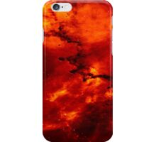 Solar Red Dust Art Print iPhone Case/Skin