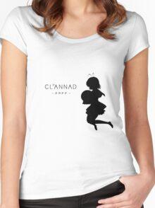 CLANNAD - Furukawa Nagisa Women's Fitted Scoop T-Shirt