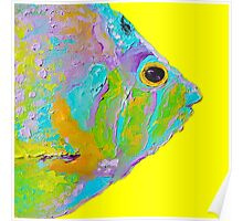 Tropical Fish painting Poster