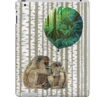 Balloon Monkey dream iPad Case/Skin