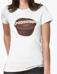 Hostess Cupcake Pattern Womens Fitted T-Shirt