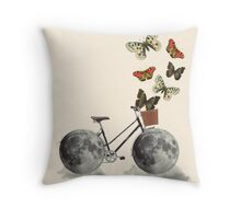 Take a ride (bike) Throw Pillow