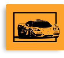 Driving out of frame Canvas Print