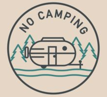 No Camping by typeo