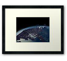 International Space Station Framed Print