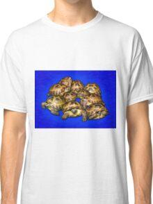Greek Tortoise Group - Dark Blue Classic T-Shirt