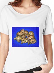 Greek Tortoise Group - Dark Blue Women's Relaxed Fit T-Shirt