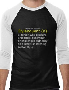 Dylanquent 2 Men's Baseball ¾ T-Shirt