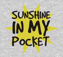 Sunshine in my Pocket One Piece - Long Sleeve
