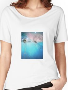 the marvelous adventures of octo and shark Women's Relaxed Fit T-Shirt