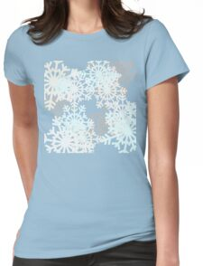 Blizzard by Anne Winkler Womens Fitted T-Shirt