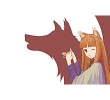 Spice and Wolf Photographic Print