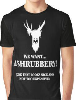 Bring Us A Shrubbery Graphic T-Shirt