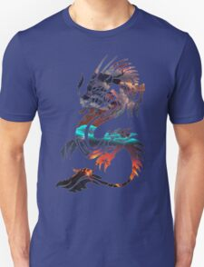 Dragon Picture Fill Unisex T-Shirt