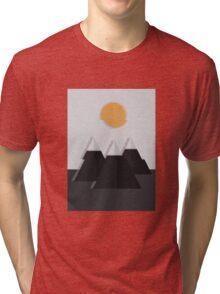 Glitch Mountain Tri-blend T-Shirt