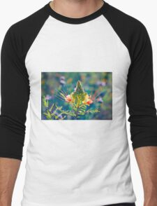 Pollination Men's Baseball ¾ T-Shirt