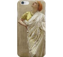 Vintage famous art - Albert Joseph Moore - Study For Birds iPhone Case/Skin