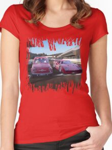 Pipped at the post  Women's Fitted Scoop T-Shirt
