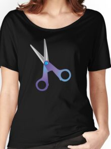 A pair of SCISSORS Women's Relaxed Fit T-Shirt