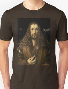 Vintage famous art - Albrecht Durer - Self Portrait Unisex T-Shirt