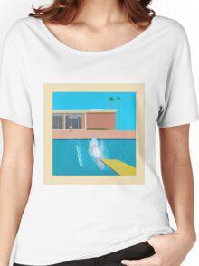 David Hockey - A Bigger Splash Women's Relaxed Fit T-Shirt