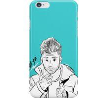 Zayn Malik Drawing Digital Art iPhone Case/Skin