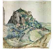 Vintage famous art - Albrecht Durer - View Of The Arco Valley In The Tyrol Poster
