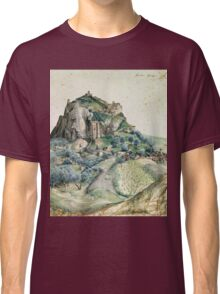 Vintage famous art - Albrecht Durer - View Of The Arco Valley In The Tyrol Classic T-Shirt