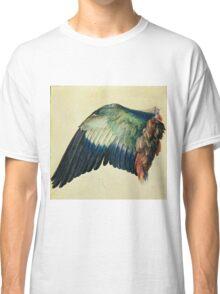 Vintage famous art - Albrecht Durer - Wing Of A Blue Roller Classic T-Shirt