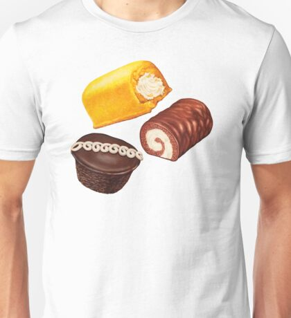 Hostess Cakes Pattern Unisex T-Shirt